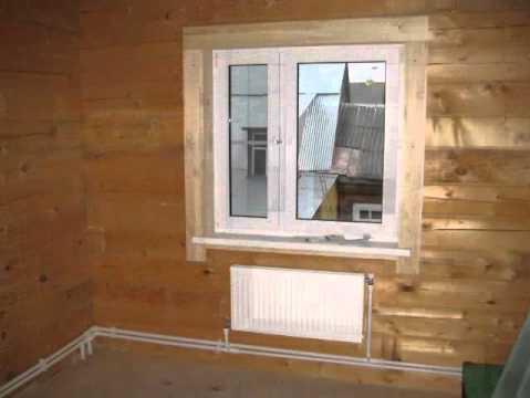 Отопление деревянного дома своими руками фото